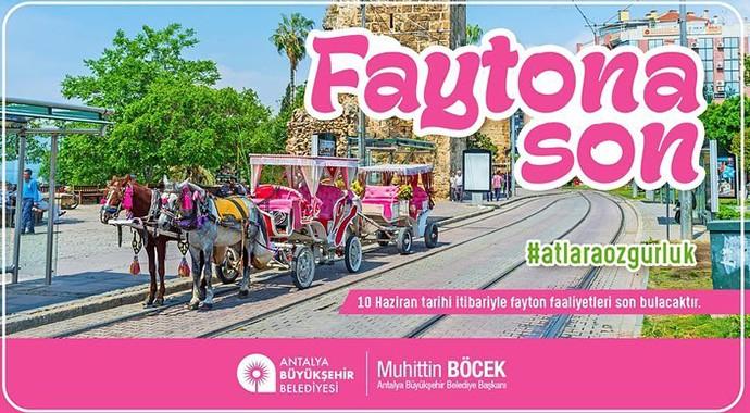Antalya'da Faytona Son