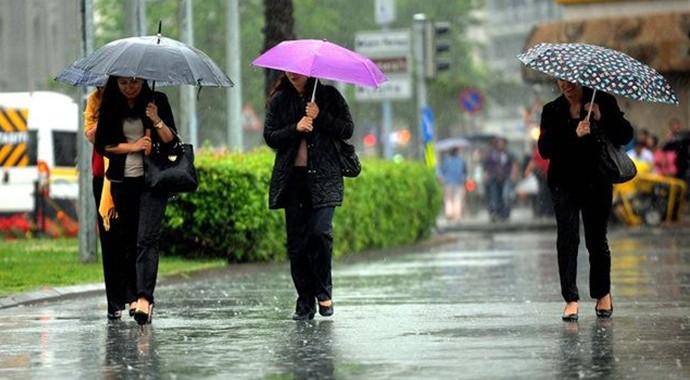 Meteoroloji'den Son Dakika: Sağanak Yağış ve Hava Durumu Uyarısı!