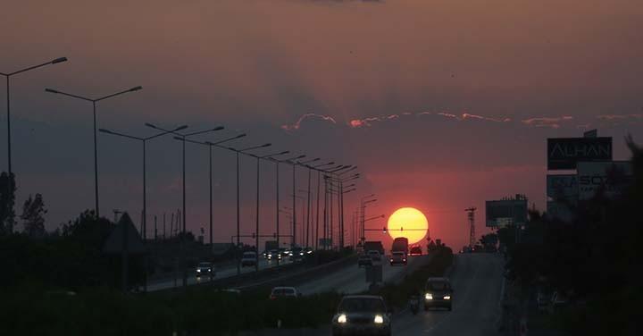 Antalya'da Büyüleyici Gün Batımı