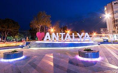 Antalya'da Herkesin Bildiği 7 Buluşma Noktası