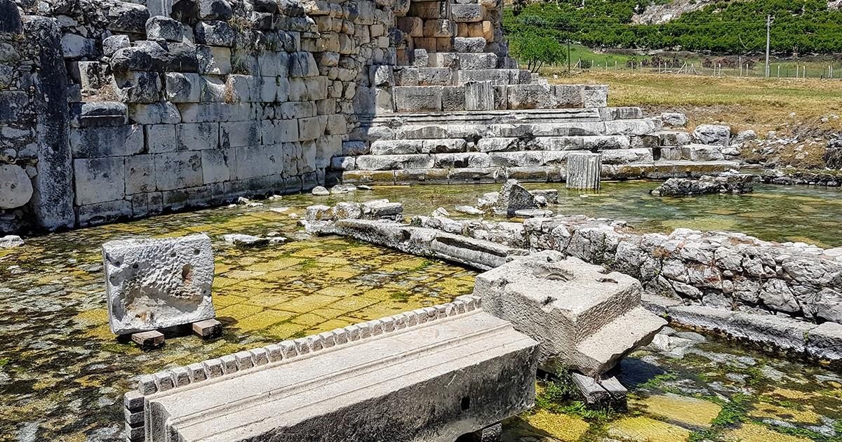 Antalya'da Gizli Kalmış  Yerler