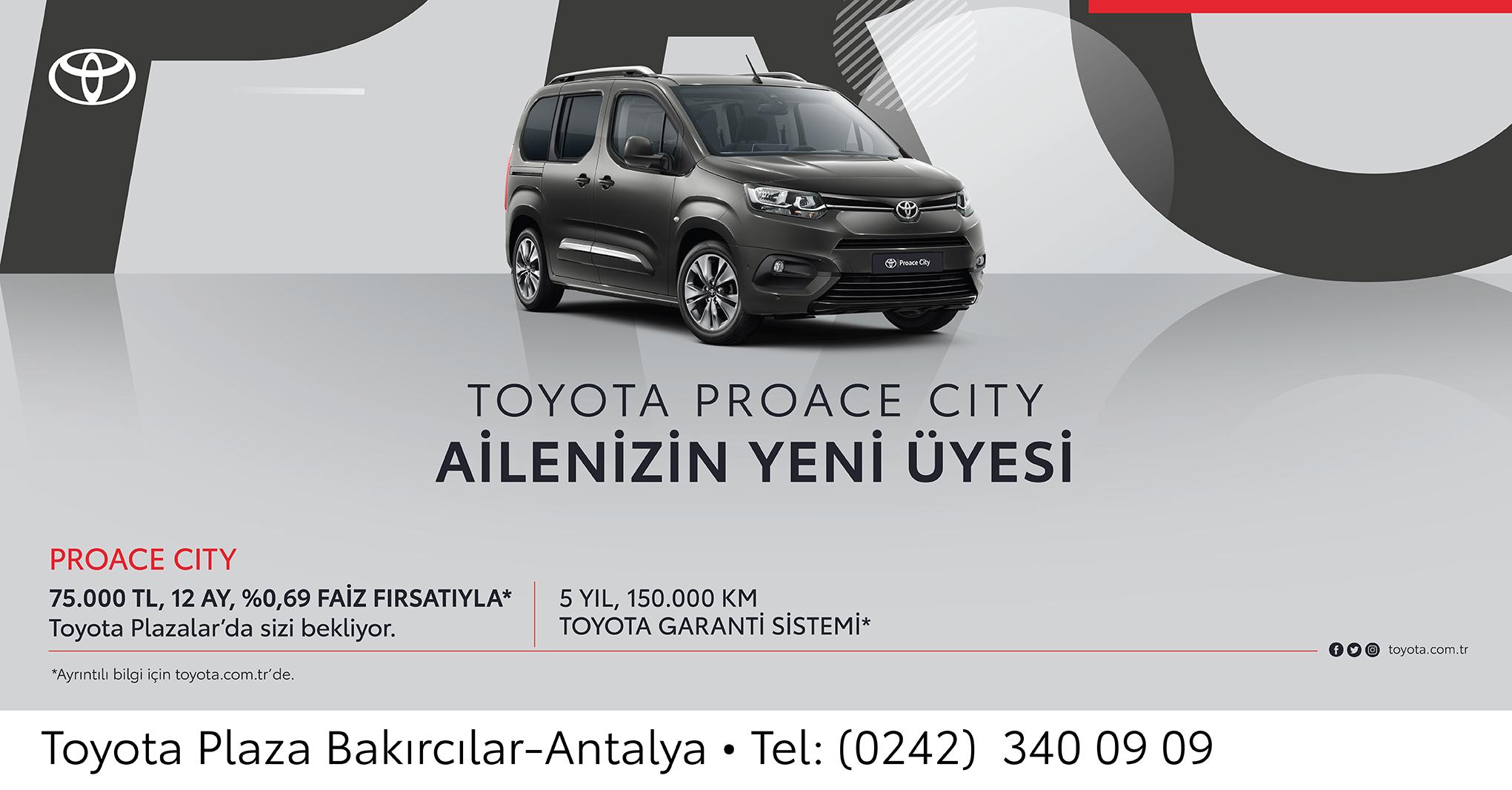 Toyota Bakırcılar Antalya